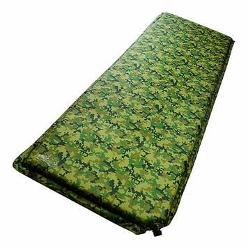 Самонадувний килимок каремат 180х50см прочьный водовідштовхувальний універсальний