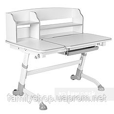 Стол-парта трансформер для дома FunDesk Amare II Grey