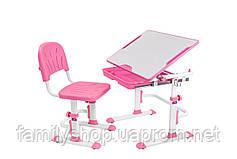 Растущая детская парта со стульчиком Cubby Lupin Pink, фото 2