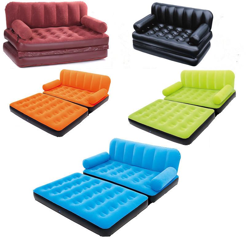 Надувний, диван, 5в1, ліжко, софа кушетка, матрац, універсальний, трансформер без насоса