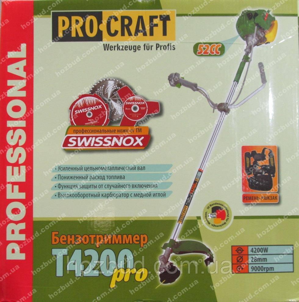 Бензокоса Procraft Т-4200