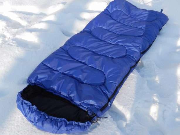 Спальник, спальный мешок, зимний,  одеяло,  до -30, туристический,  рыбацкий, военный, теплый