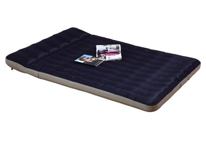 Надувной двухспальный двухместный матрас с подгоголовником 203х147х24см