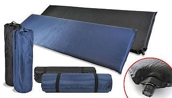 Самонадувний туристичний термо килимок каремат прочьный надійний водовідштовхувальний bestway sport