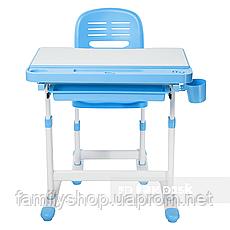 Детская парта со стульчиком FunDesk Cantare Blue, фото 2