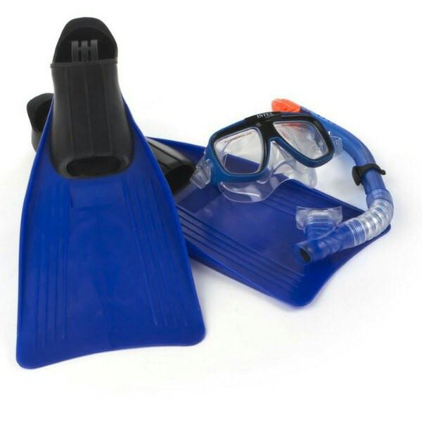 Ласты, трубка, маска, в комплекте, intex, sport, качественные, надежные, есть все розмеры