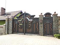 Ворота кованые Канада