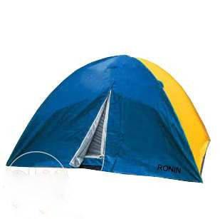 Палатка туристическая двух слойня четырёх местная рыбацкая кемпинговая с москитной сеткой