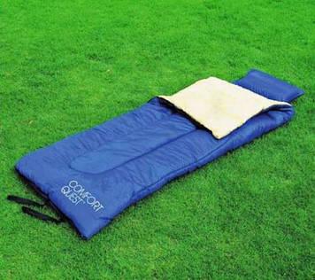 Спальний мішок, спальник, з подушкою, до -6, туристичний, рибальський, універсальний