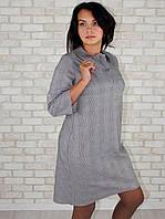 Платье рубашка с пуговицами на спине