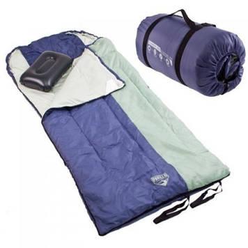 Спальний мішок, спальник, широкий, з подушкою, якісний, теплий, надійний, туристичний, до -14, рибацький