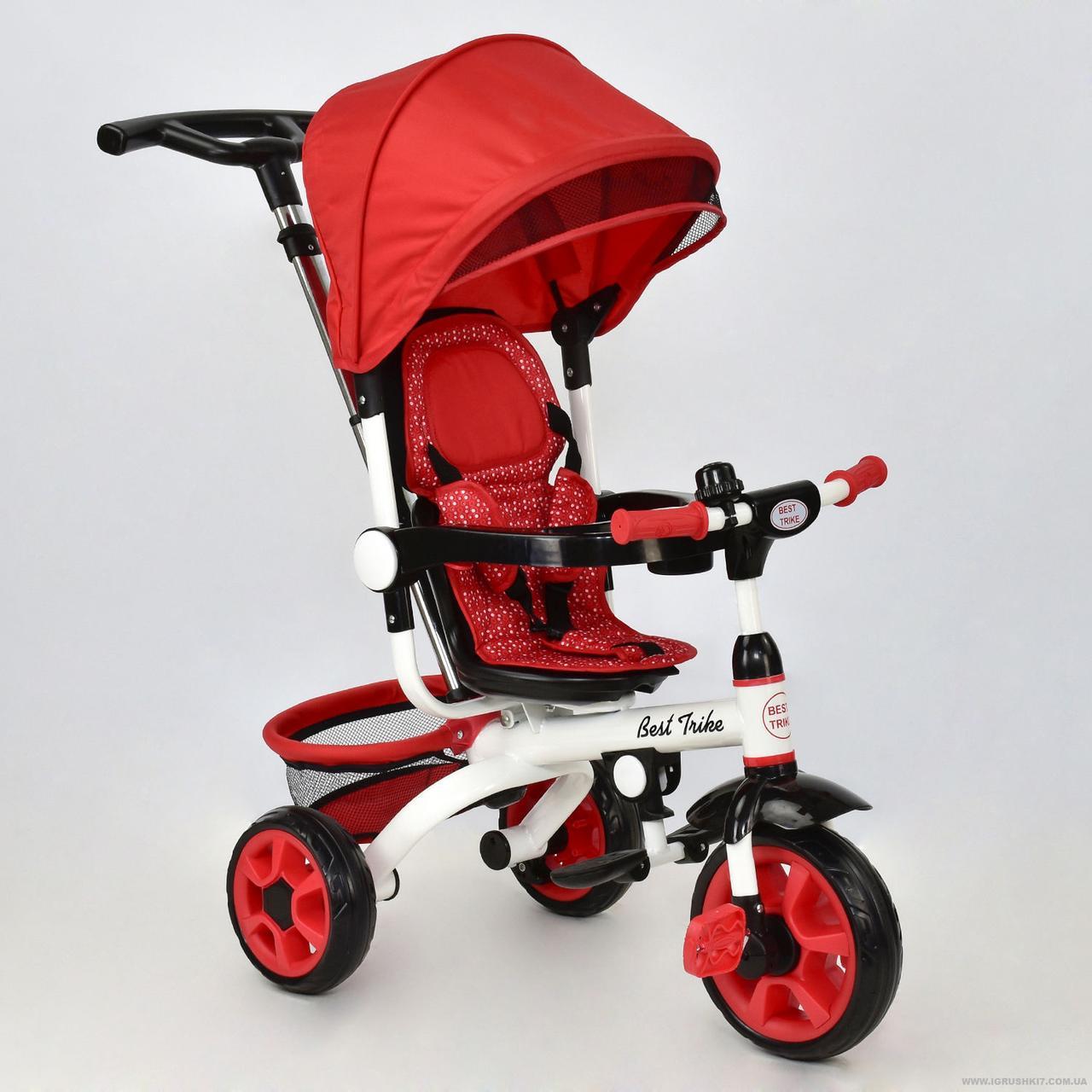 Велосипед трехколесный Best Trike DT 128 красный