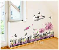 Виниловая декоративная наклейка на стену, мебель для дома и кафе(864721)