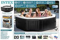 Надувной бассейн джакузи PureSpa Jet and Bubble Deluxe (218 х 71 см) Intex 28456, фото 1