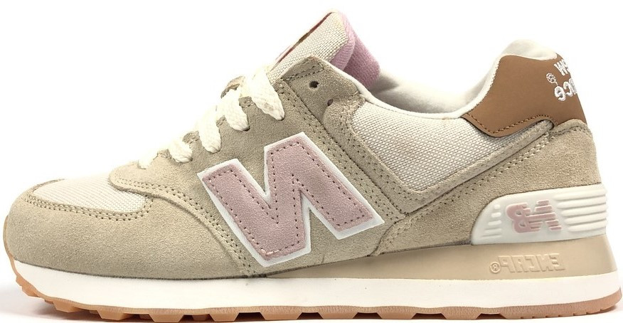 Женские кроссовки New Balance 574  (в стиле Нью Баланс)