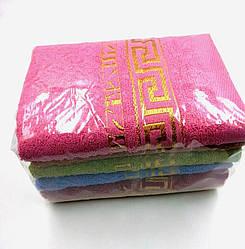 Полотенце для лица 50х100 махровое в ассортименте - упаковка 6шт.