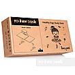 Парта-трансформер для школьника FunDesk Ballare Grey с выдвижным ящиком, фото 3