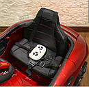 Дитячий електромобіль Porshe, шкіра, EVA гума, дитячий електромобіль, фото 5