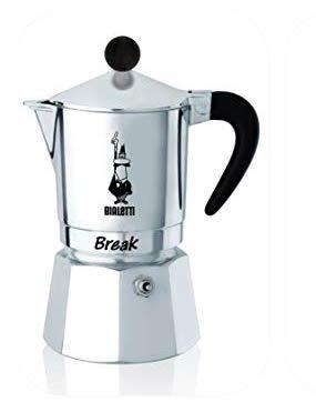 Гейзерная кофеварка Bialetti Break Black (6 чашек - 300 мл)