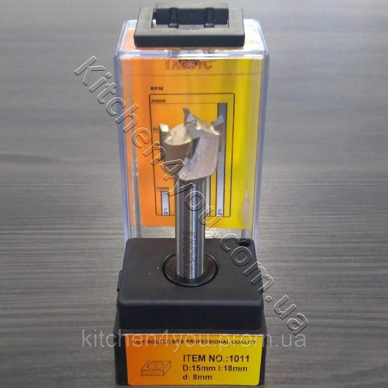 Фреза форстнера D 15, d8 мм.