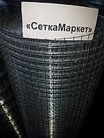 Сетка сварная оцинкованная, Ячейка 12х12 мм. Диаметр 0,9 мм.