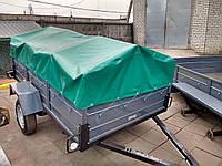 Прицеп одноосный усиленный Лев-Супер от Кременчугского завода-производителя, фото 1