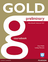 Gold Preliminary New Edition Coursebook and CD-ROM Pack