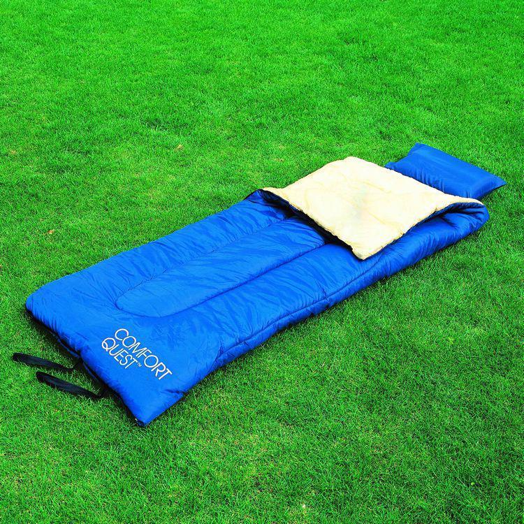 Спальник спальный мешок с подушкой одеяло туристический до -14