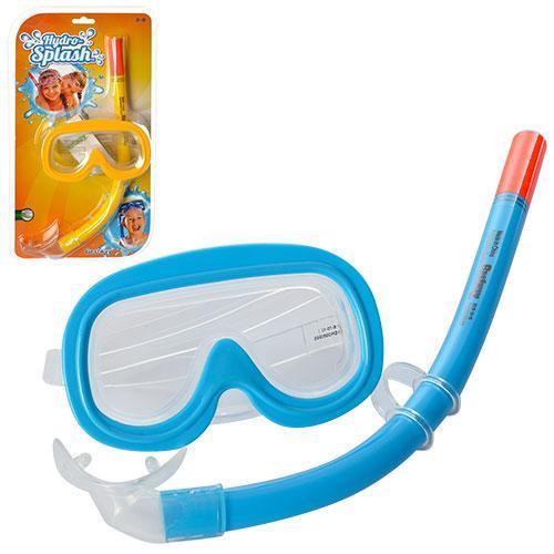 Детский, набор для плаванья, маска с трубкой от 3 до 6 лет