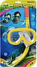 Детский, набор для плаванья, маска с трубкой от 3 до 6 лет, фото 2