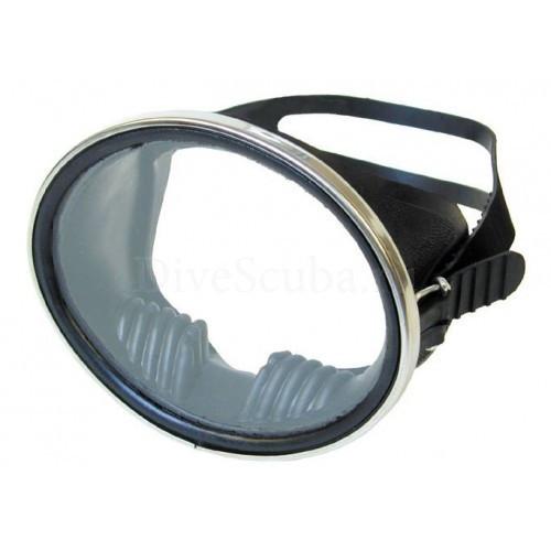 Маска глубинка с каленым стеклом незапотевает с хорошим обзором