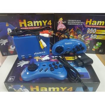 Игровая приставка хами с встроенными 350 играми 175 денди и 175 сеги встроенный самые популярные игры