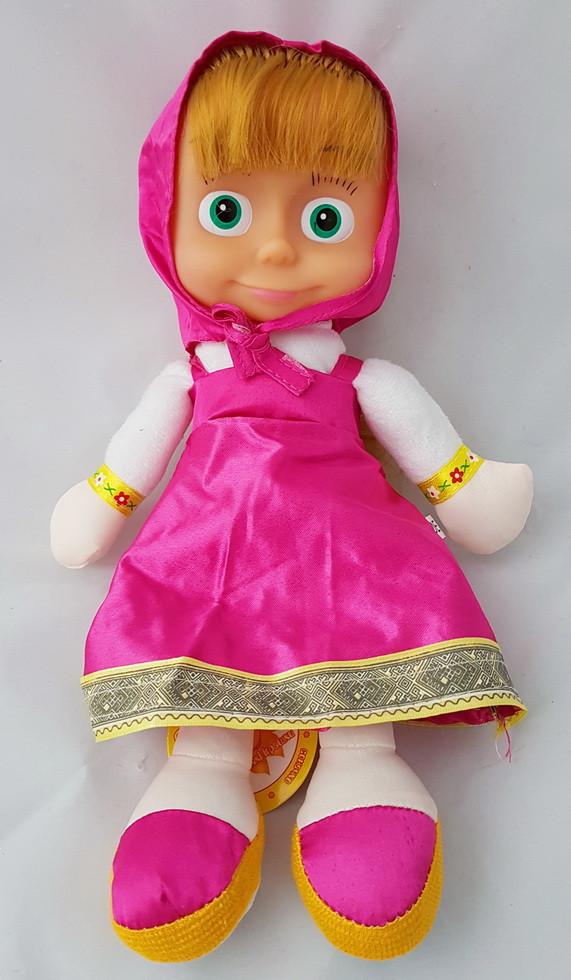 М'яка іграшка Маша плюшева розмовляє співає пісеньку з мультфільму маша і ведмідь лялька
