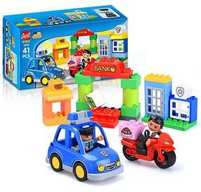 Конструктор Gorock 1036 Полицейский патруль (аналог Lego Duplo)