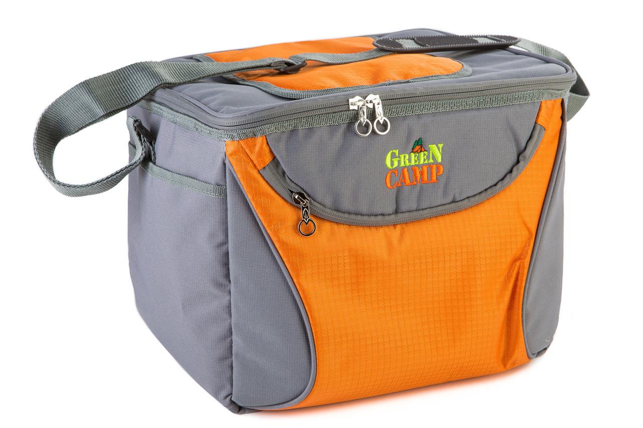 Термо сумка на 19 литров с аккумулятором холода держит температуру до 18 чясов