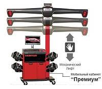 Стенд для РУУК HawkEye ELITE, технологія 3-D, 4-х камерний, мобільна колона, ЗА WinAlign HUNTER WA360E-HE421