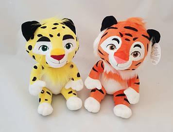 М'яка музична іграшка, Лео, і, тигр, співає пісню з мультика, 25см