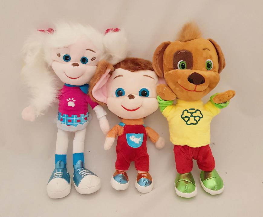 Набір М'яка музична іграшка, барбоскины, співають пісню і розмовляють фразами з мультфільму
