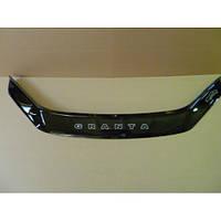 Дефлектор капота (мухобойка) Lada Granta (2190) с 2011 г.в. (Лада Гранта) Vip Tuning