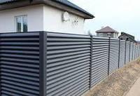 Забор-жалюзи /с покрытием PE, PEMA, PRINTECH/ одностороннее, двухстороннее покрытие  40/120