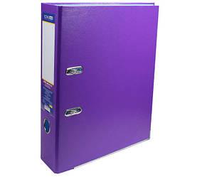 Папка реєстратор А4 Economix, 70 мм, фіолетова E39721 * -12