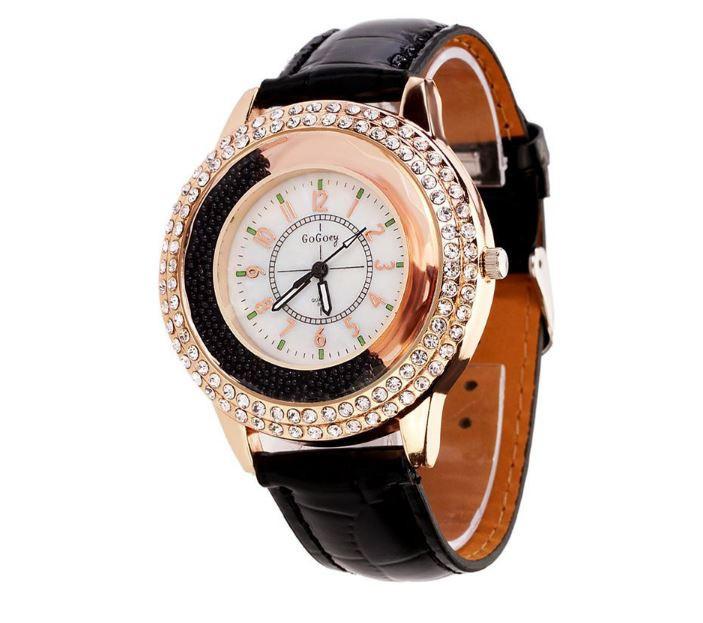 9cc7a96c Наручные женские часы с кристаллами код 109, цена 202 грн., купить в ...