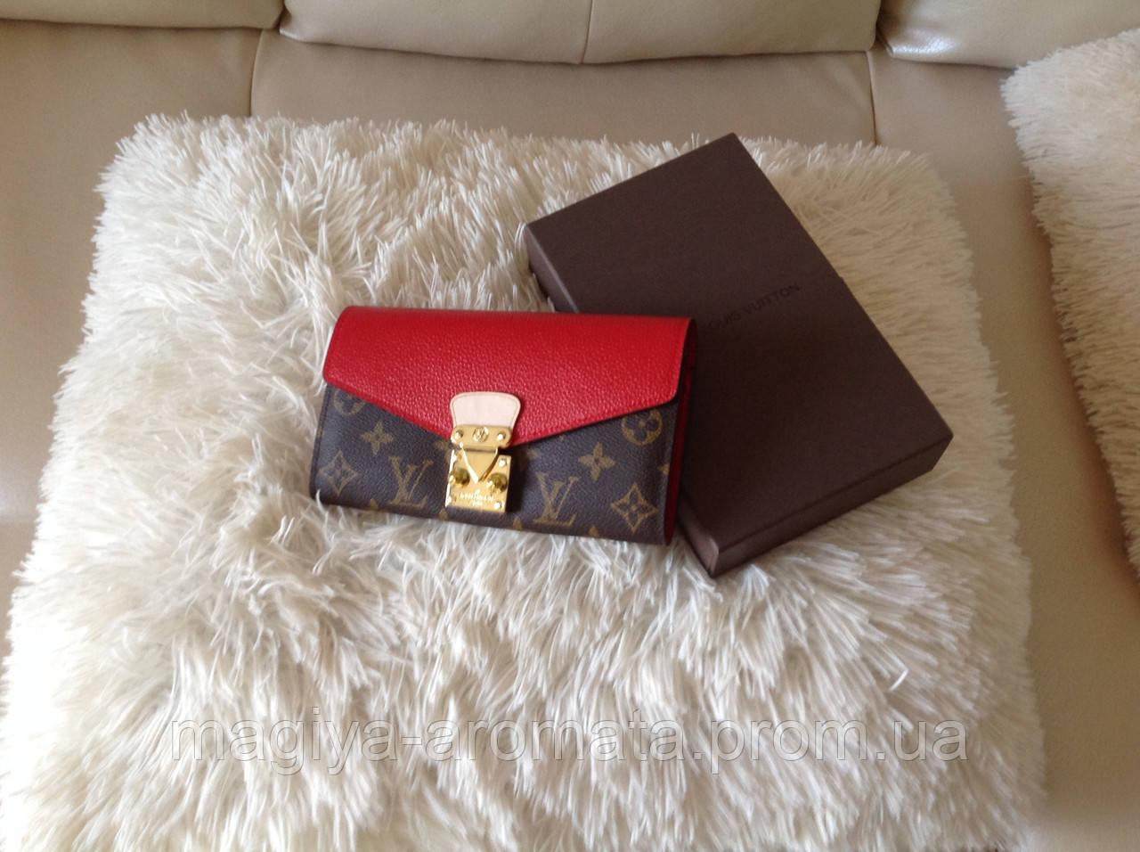 0140209c920f Кожаный Женский Кошелек Louis Vuitton Монограмм Луи Витон — в ...