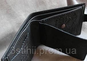 "Кожаное портмоне ""Черепок"" Мануфактура Гук (842-48-21), фото 3"
