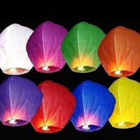 Небесные фонарики купол в прозрачной упаковке