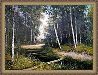 Картина в багетной раме Летний лес 400х500 мм №369