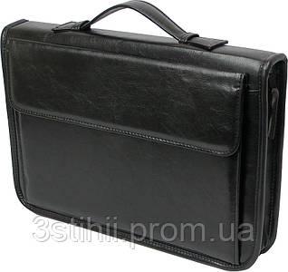 Папка-портфель для документов A-art 36TARK Черная