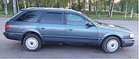Дефлекторы окон (ветровики) Audi 100 Avant (4A,C4) 1990-1994/Audi A6 Avant 1994-1997(4A,C4) (Ауди Авант 100) Cobra Tuning