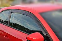 Дефлекторы окон (ветровики) Audi A1 Hb 3d (8X) 2010 (Ауди А1) Cobra Tuning