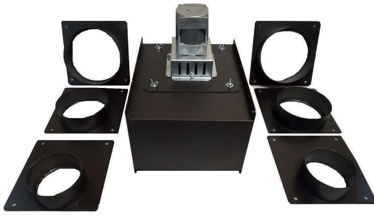 Модульний витяжний димосос для твердопаливного котла ДПУ WWK 180/60W Ø-140